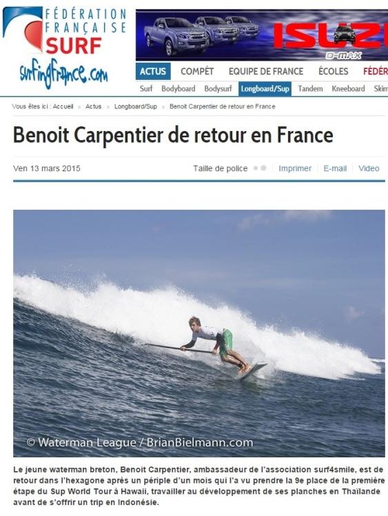 ®Benoit-CARPENTIER-Surf4SmileParution_13mars15_FFS©SurfingFrance