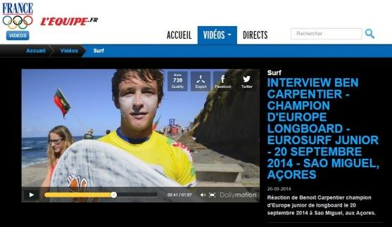 BenoitCarpentier-SportVideo-L'Equipe-20sept2014
