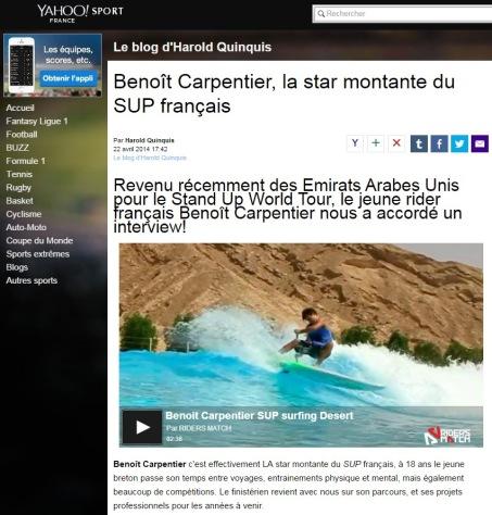 BenoitCarpentier-Yahoo!Sport-22avr2014