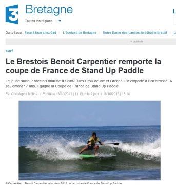 France3 Bretagne 18oct