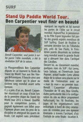 Le Télégramme Sport 13déc