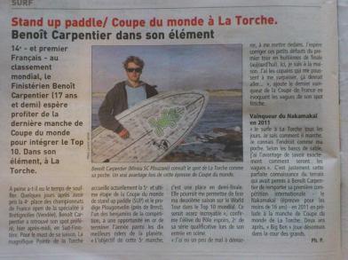 Le Télégramme - Sports-31oct