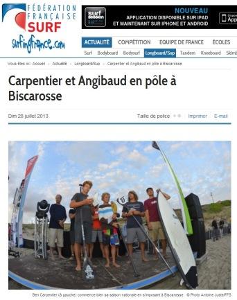 Surfing France 28 juillet