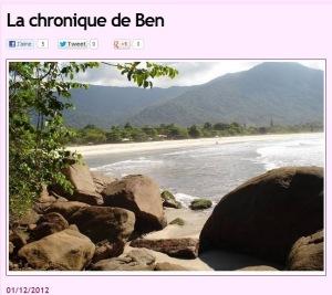 Chronique Brésil 3