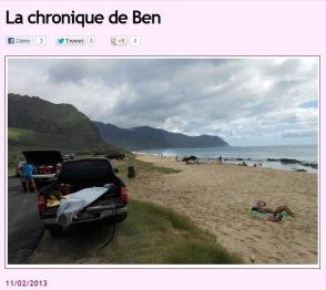 Chronique Hawaii 11fév
