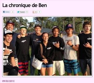 Chronique Hawaii 9fév