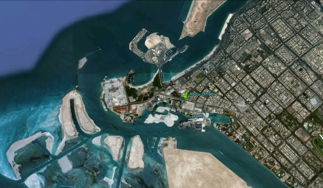 Abu Dhabi Google earth