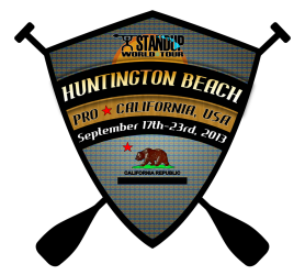 Huntington beach pro- logo Waterman-League