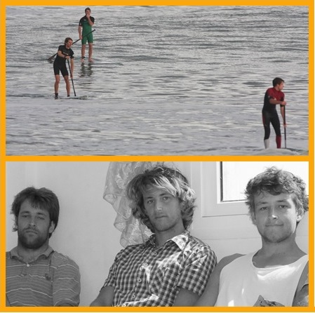 Benoit Carpentier Stand Up Paddle Surf and his brothers in Morocco - 2014