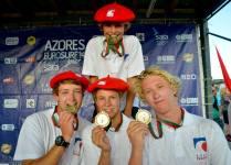 ®Benoit-CARPENTIER-longboard-2014-EUROSURF-Junior-ACORES-medailles-d'or©FFS