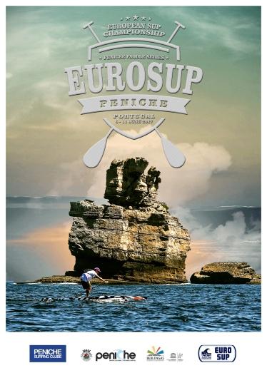 EuroSUP Peniche2017-affiche
